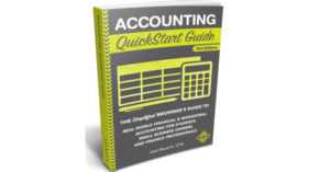 Accounting QuickStart Guide Book by Josh Bauerle Review