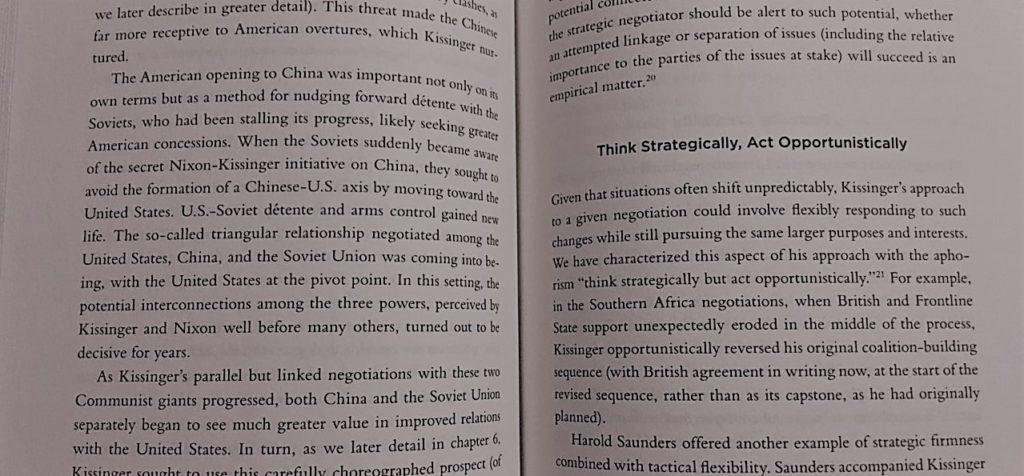 Kissinger the Negotiator Review