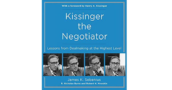 Kissinger the Negotiator Book by Henry Kissinger Review