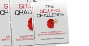 The Seller's Challenge Book by Tom Williams and Tom Saine