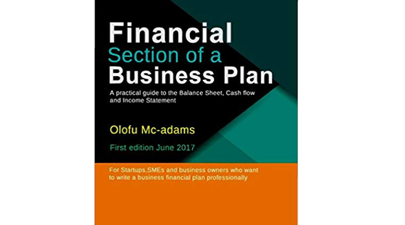 Financial Section of a Business Plan Book by Olofu Mcadams
