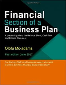Financial Section of a Business Plan by Olofu Mcadams