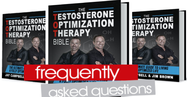 Frequently Asked Questions about Testosterone Replacement Therapy