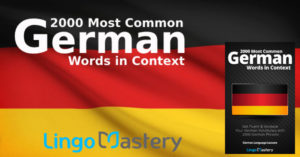 2000 Most Common German Words in Context by Lingo Mastery