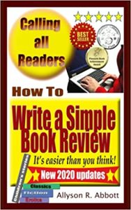 How To Write a Simple Book Review It's easier than you think!