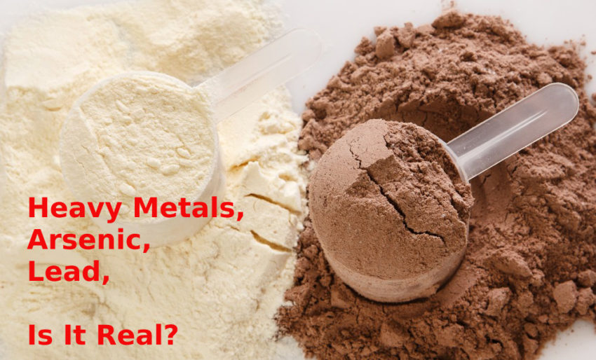 Heavy Metals in Sport Supplements and Protein bars
