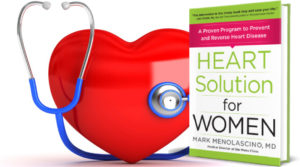 Heart Solution for Women Book by Mark Menolascino M.D.