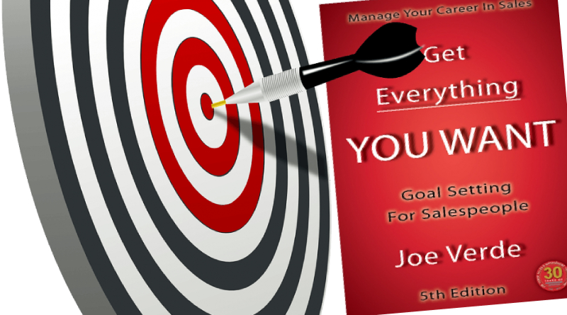 Manage Your Career in Sales - Goal Setting by Joe Verde