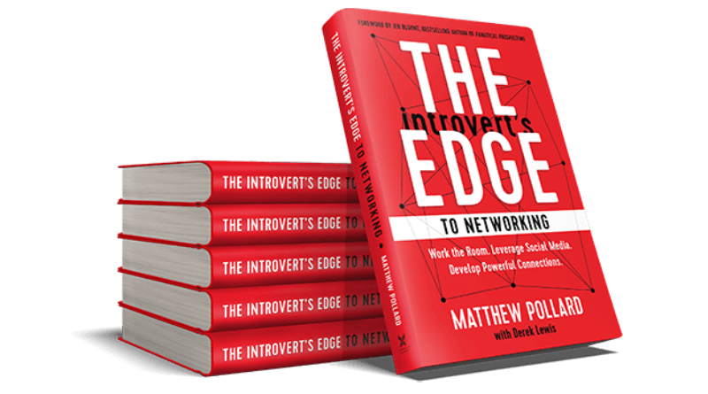 The Introvert's Edge to Networking by Matthew Pollard Book Review
