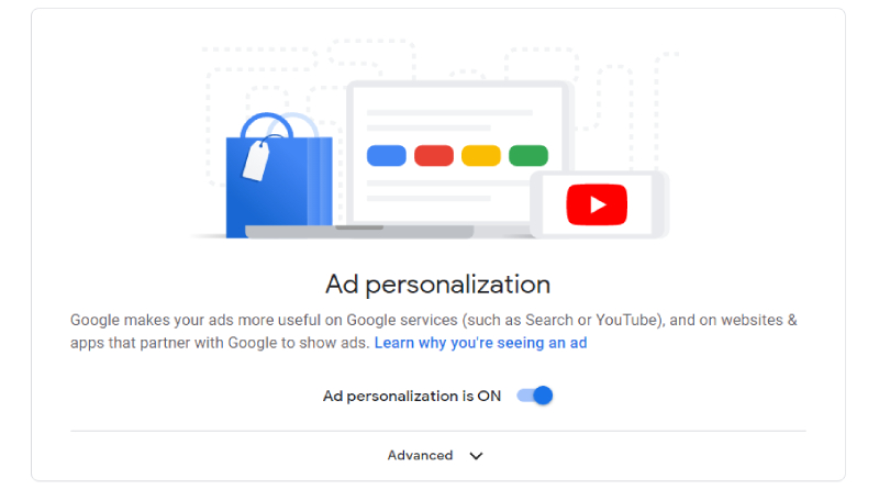 Why should I keep Google Ad Personalization ON?